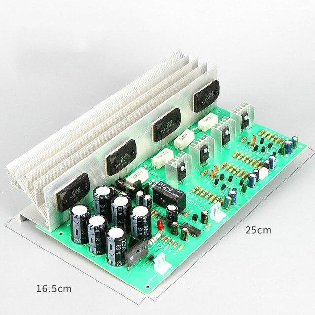SOTAMIA כוח מגבר אודיו לוח סטריאו Amp 2.0 ערוץ Sanken 1494/3858 קול מגבר 150W * 2 רמקול קולנוע ביתי DIY