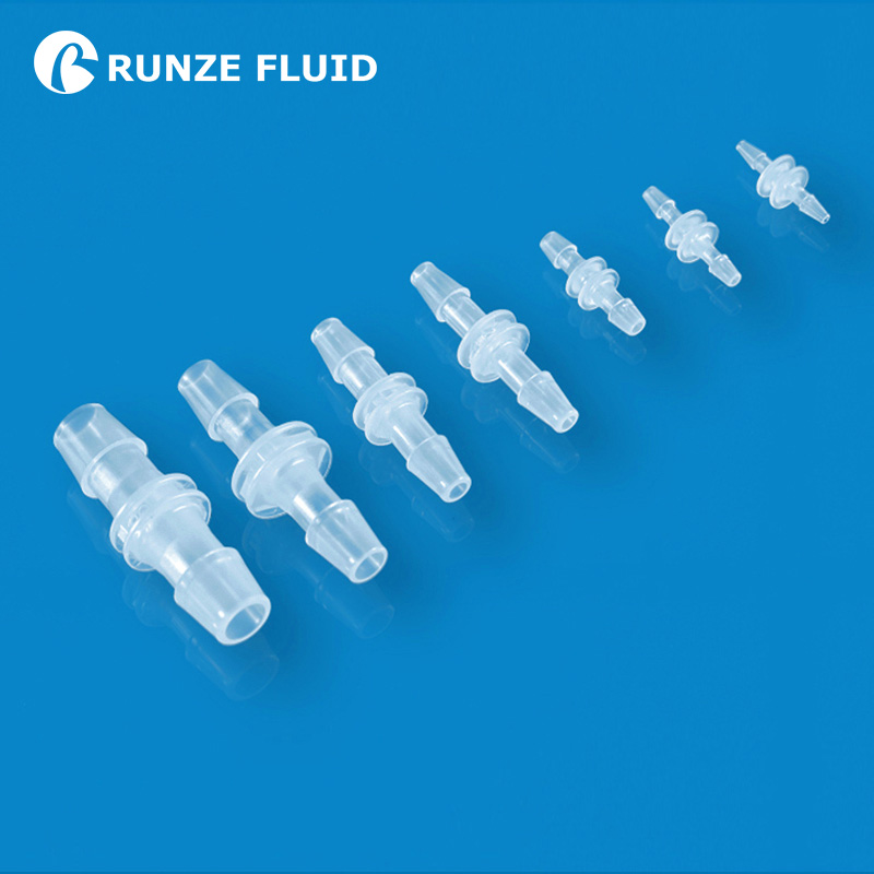 Peristaltic Pump Silicone <font><b>Tube</b></font> <font><b>Fitting</b></font> Easy Coupling Hose Connector Plastic PP Spare Parts FDA Quality Material Leakage-free image
