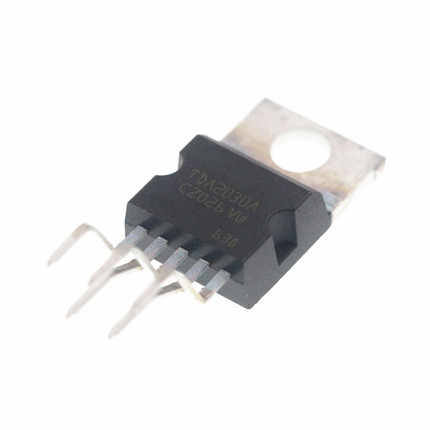 5pcs TDA2030 TO220-5 TDA2030A כדי-220 ליניארי אודיו מגבר קצר במעגל והגנת תרמית IC