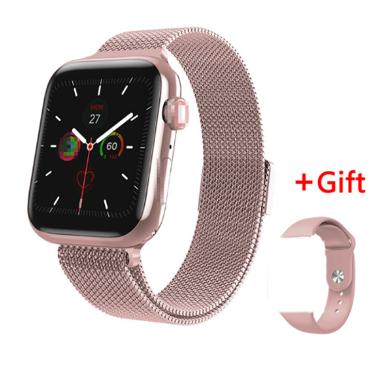 Bluetooth Call Smart Watch W88 speaker Heart Rate Monitor Wrist Music <font><b>iwo</b></font> <font><b>8</b></font> lite 42MM <font><b>44MM</b></font> Band <font><b>Smartwatch</b></font> pk W68 W58 w34 image