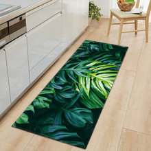 Kitchen Doormat 3D Green Grass Bamboo Print Floor Mat Hallway Living Room Balcony Bath Mat Non Slip Area Rugs Bathroom Carpet