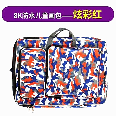 Fashion Cartoon Drawing Set Art Bag A3 Sketch Pad/Drawing Kit 8K Art School Bag Painting Bags For Kids Sketchpad Bag Waterproof