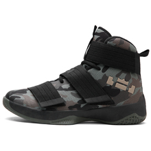 2019 New Camouflage Men Basketball Shoes Breathable Shock Sn