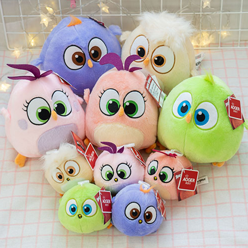 Image 2 - New style Movie birds fledgling Samantha Zoe Vincent Arianna Will cute Stuffed toys Plush Claw machine doll for Children gifts-in Stuffed & Plush Animals from Toys & Hobbies