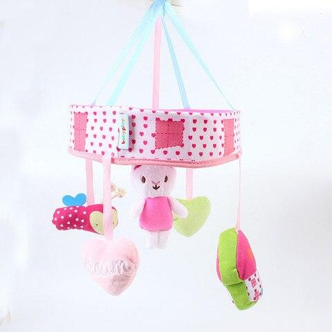 coelho caixa musical com suporte braco brinquedos