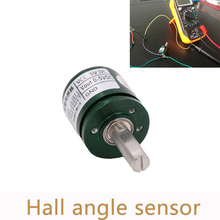 5 ピース/ロット非接触ホール角度センサ 0 360 度の角度変位トルク回転角度変位センサー L25