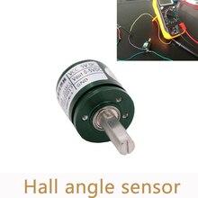 5 pçs/lote sensor de ângulo hall sem contato 0 360 graus rotação de torque de deslocamento angular sensor de deslocamento angular l25