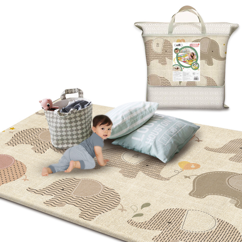 Children Play Mat Kid Rug Double Side Printing 200*180*1cm