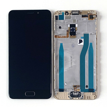 "ASUS Zenfone 3S Max ZC521TL X00GD LCD 디스플레이 스크린 프레임 + 지문 ZC521TL 터치 패널 디지타이저 용 5.2 ""M & Sen"