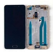 """Ban Đầu Năm 5.2 """"M & Sen Dành Cho ASUS Zenfone 3S Max ZC521TL X00GD Màn Hình Hiển Thị LCD Khung Màn Hình + Cảm Ứng bảng Điều Khiển Bộ Số Hóa Bằng Vân Tay ZC521TL"""