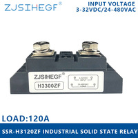 inputDC 3 32VDC/AC70/280VAC SSR H3400ZF single phase solid state relay load current 400A industrial SSR with 4000V for auto