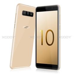 Перейти на Алиэкспресс и купить xgody s10 mobile phone 5.5 inch 18:9 ram 2gb rom 16gb mt6580 quad core dual camera android 8.1 3g smartphone
