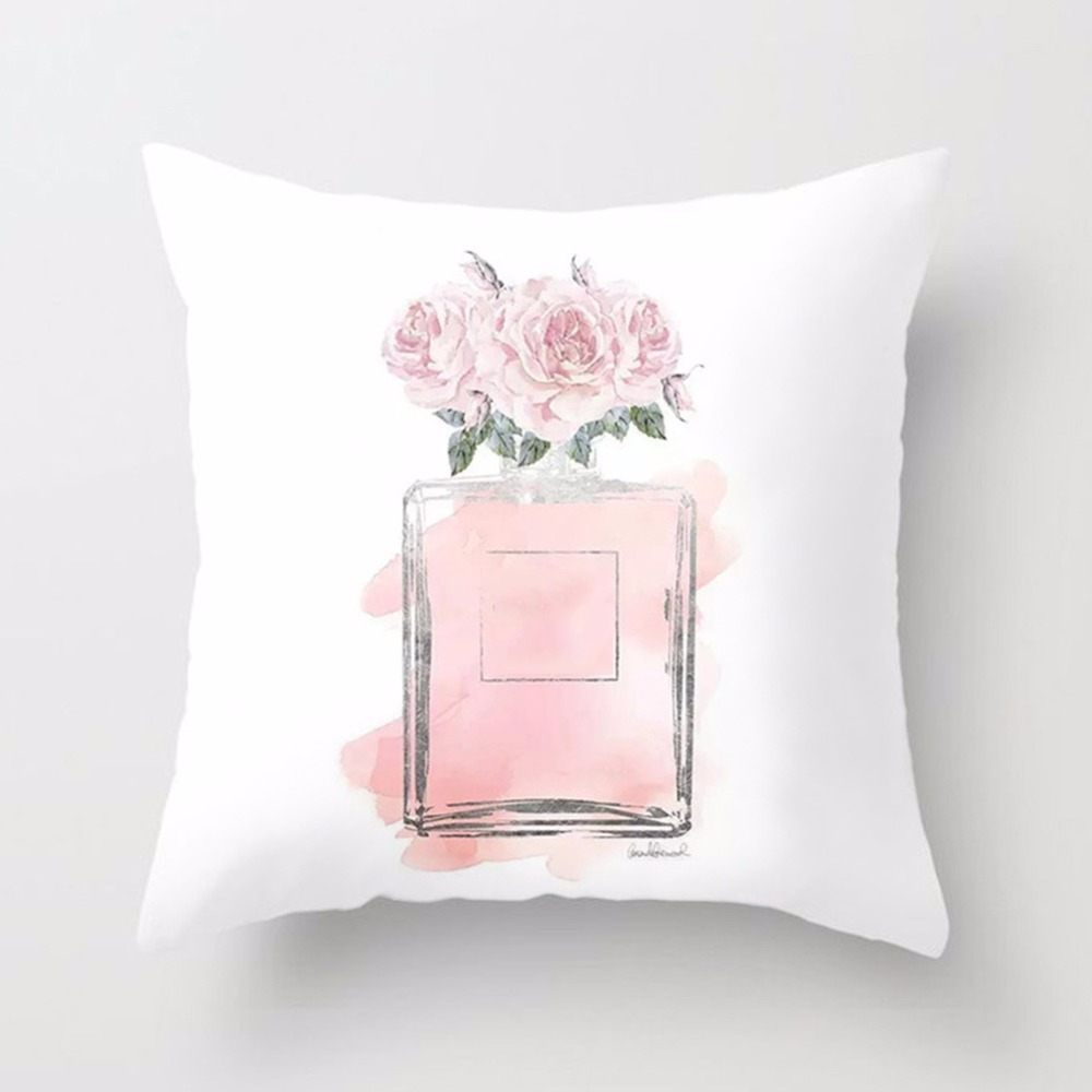 New-Printed-Flower-Pillow-Case-Cover-Square-45cm-45cm-Polyester-Pillowcase-Seat-Cushion-Case-Cover-Home(4)
