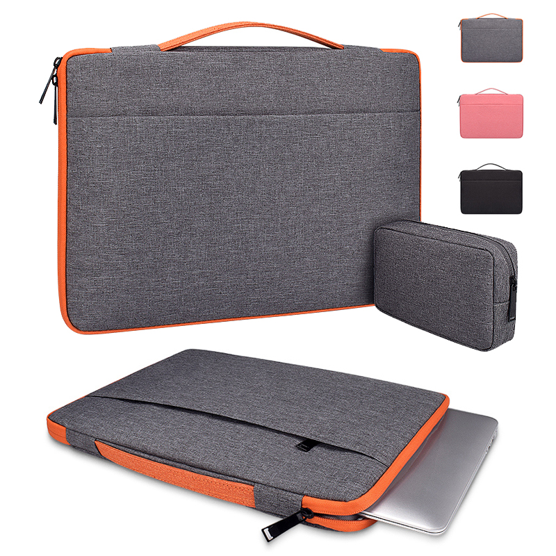 Men Laptop Bag Sleeve Handbag Notebook Carrying Case For Macbook Air Pro 11.6 13.3 15.6 title=