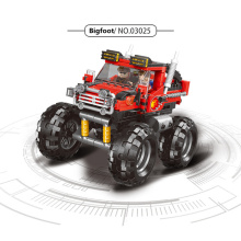 371PCS Technic Series Car Building Blocks The super big foot Truck kids toys Model kit Bricks Educational Toys For Children gift