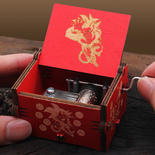New Carved Queen Music Box Star Wars Game of Thrones Castle