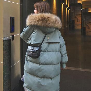 Parka automne hiver veste femmes vêtements Vintage chaud manteau femme bas coton veste chaude épaisse longue Parkas surdimensionné 1