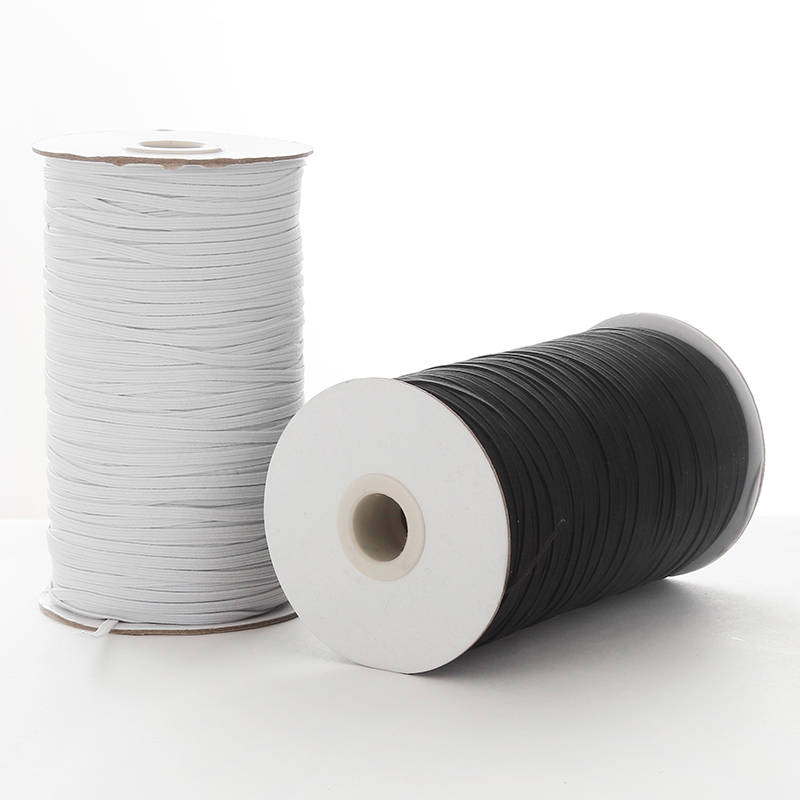 3 6 8 10 12mm Elastic Bands For Face Mask Width Elastic Cord For