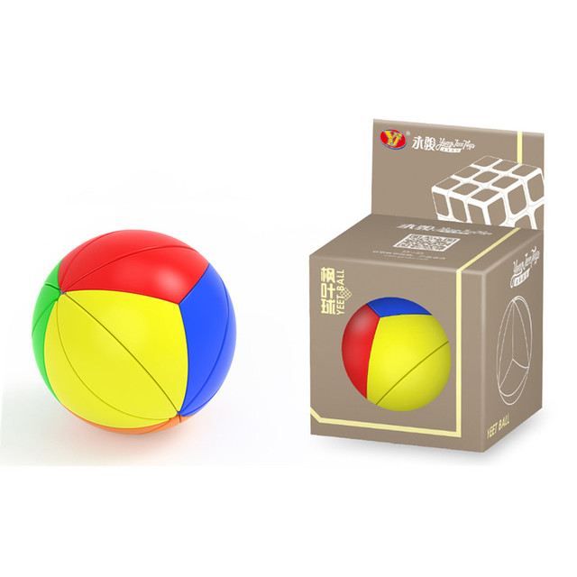 YJ Yeet Ball Cube 3D Magic Cube Speed Learning Educational Toy for Children Anti Stress Round  shape Neo cubo magico 6
