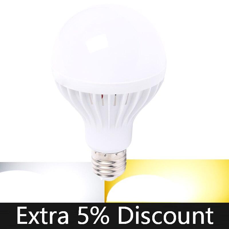 110V 220V E27 E14 LED Bulb LED Candles Indoor Decorative Light Warm White Cold White Crystal Chandeliers Light Bulb