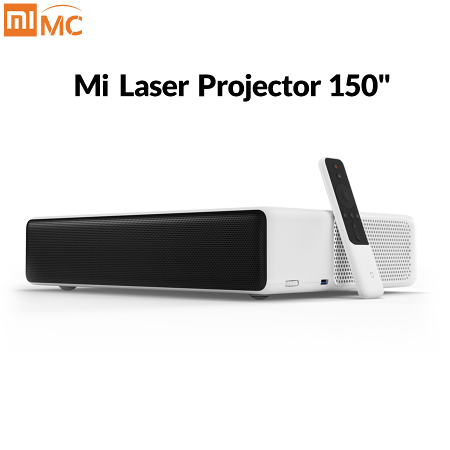 Global version Xiaomi MI Laser Projection TV 150 Inches 1080 Full HD 4K Wifi 2.4G/5GHz DOLBY DTS 5000 lumens Home Movie Theater image