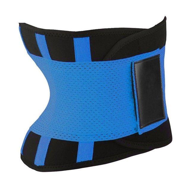 Men Women Sport Waist Belt Tummy Slimming Body Shaper Cincher Zipper Waist Cincher Corset Trainer Sweat Waist Cincher Belt 3