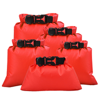 Сухой мешок Спорт на открытом воздухе плаванье рафтинг сумки для хранения 5 шт уличные водонепроницаемые Гермомешки мешки Дрифтинг водные ...
