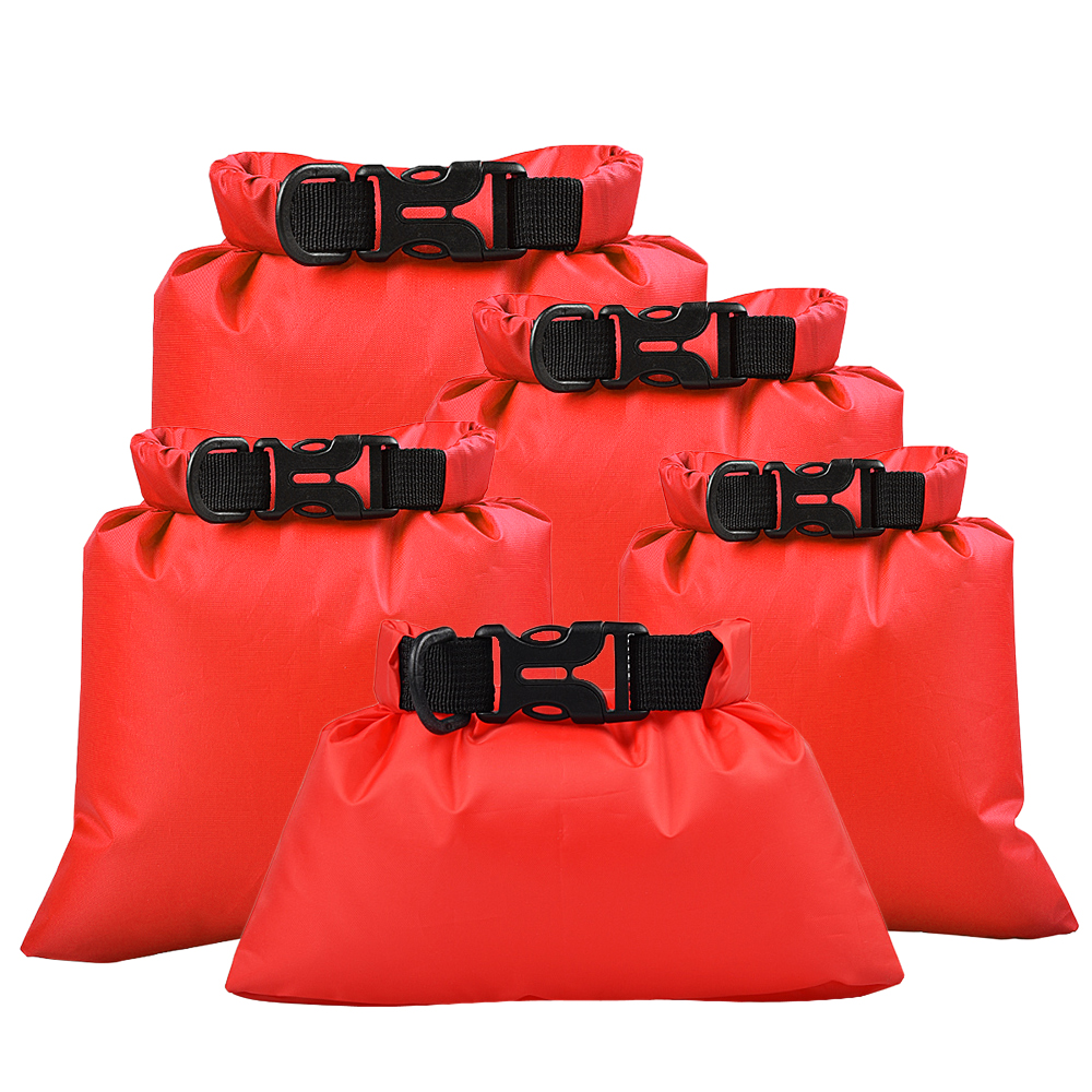 Dry Bag Outdoor Sport Swimming Rafting Storage Bags 5 Pcs Outdoor Waterproof  Dry Sacks Bags Drifting Water Sports
