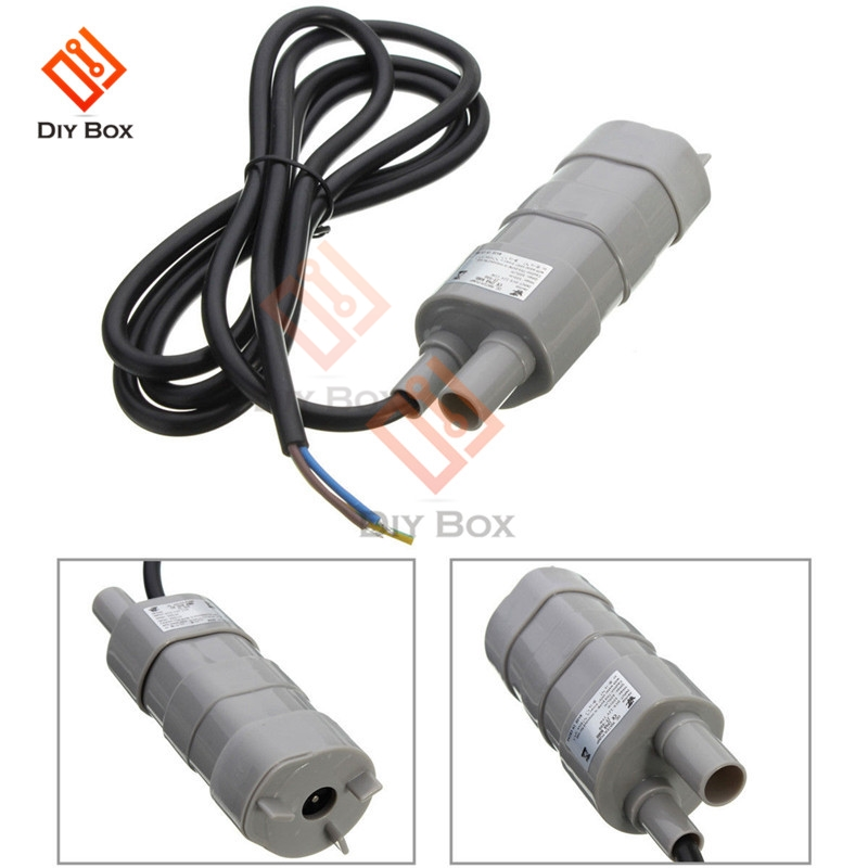 JT-500 High Pressure DC Submersible Water Pump 600L/H DC 12V  Three-phase Micro Motor Water Pumps For Water Aquarium Bath