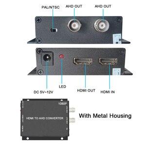 Image 4 - BNC Video Converter Video surveillance video recorder video recorder HDMI to AHD Converter For Camera CCTV Tester Converter