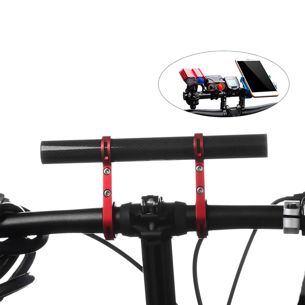 Aluminum Alloy MTB Bike Support Bicycle Handlebar Bracket Holder Bike Extender