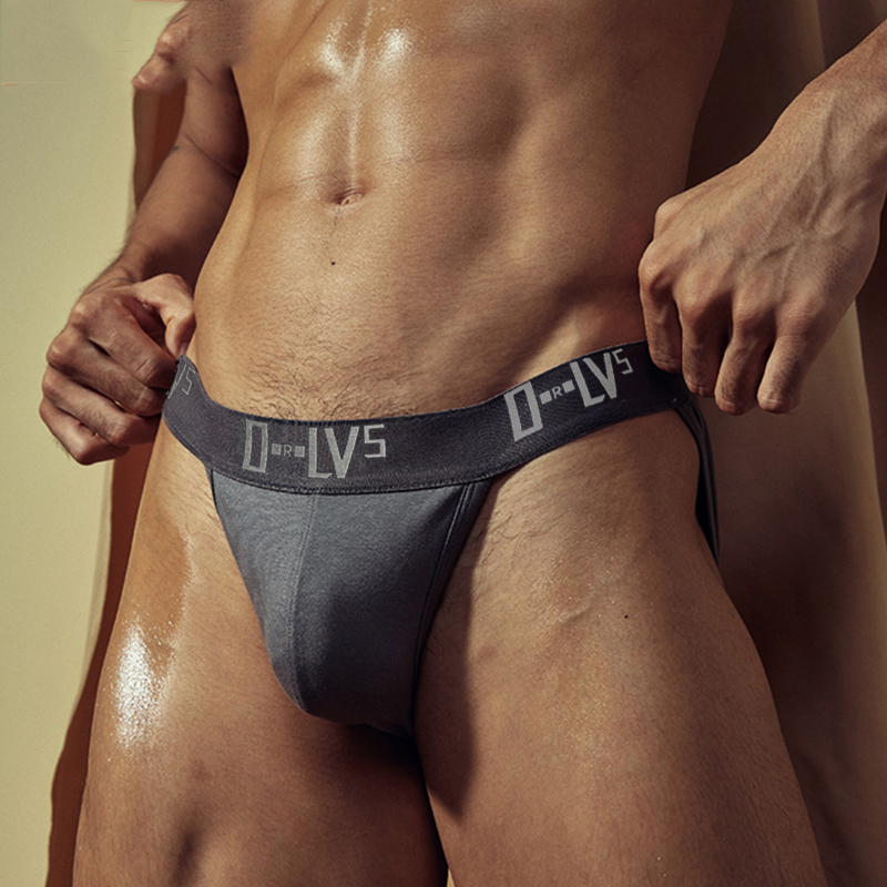 A New Line Of Men's Briefs Has Become A Big Hit. Briefs For Low-waisted, High-slit, Breathable, Solid-colored Men's Briefs