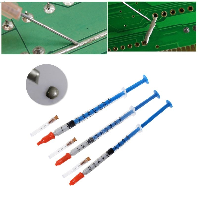 0.2/0.3/0.5ml Silver Conductive Glue Wire Electrically Solder Paste Adhesive Paint PCB Repair For Electronics Circuit Board L29k