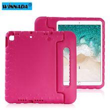 Case Voor Ipad 10.2 2019 Hand Held Shock Proof Eva Full Body Cover Handvat Stand Case Voor Kids Voor apple Ipad 7 7th 10.2 Inch Case