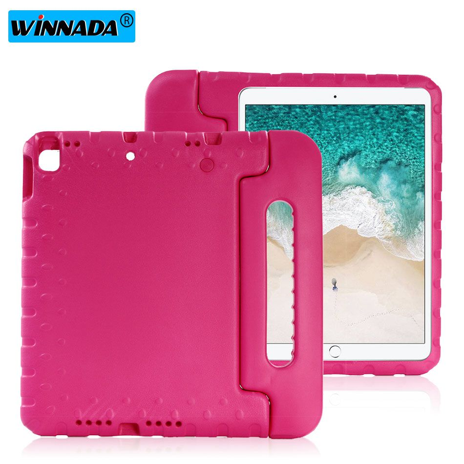 Case For Ipad 10.2 2019 Hand-held Shock Proof EVA Full Body Cover Handle Stand Case For Kids For Apple Ipad 7 7th 10.2 Inch Case