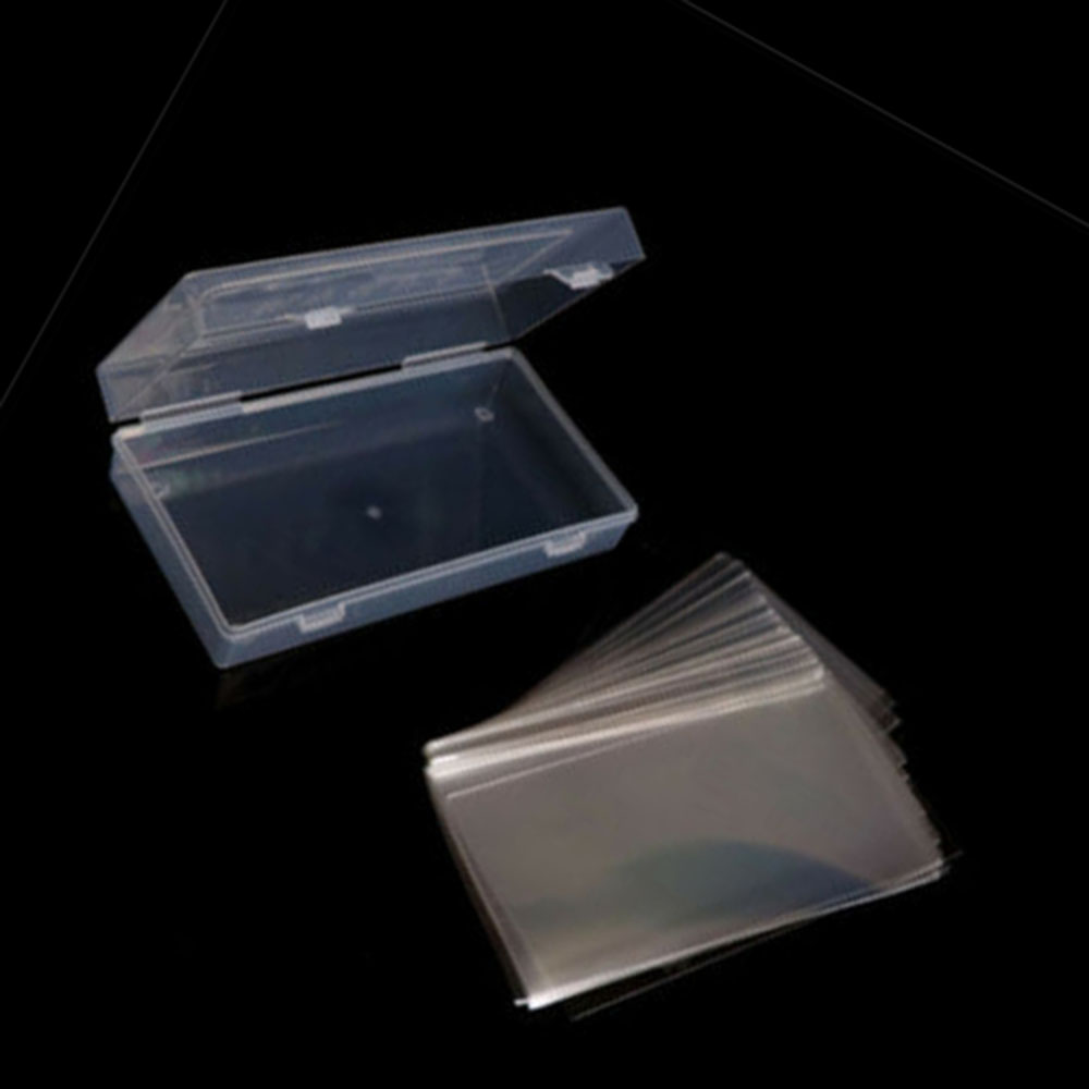 101x//Set 16.5x7.5cm Paper Money Holders Pocket Sleeves Plastic Storage Box Case
