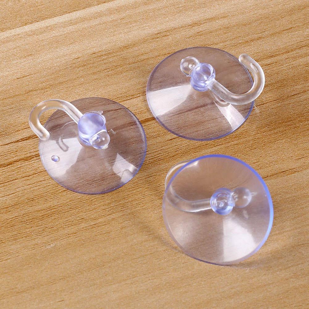 Multi Use Rubber Suction Cup Sucker Window Wall Kitchen Bathroom Hook Hanger Toy