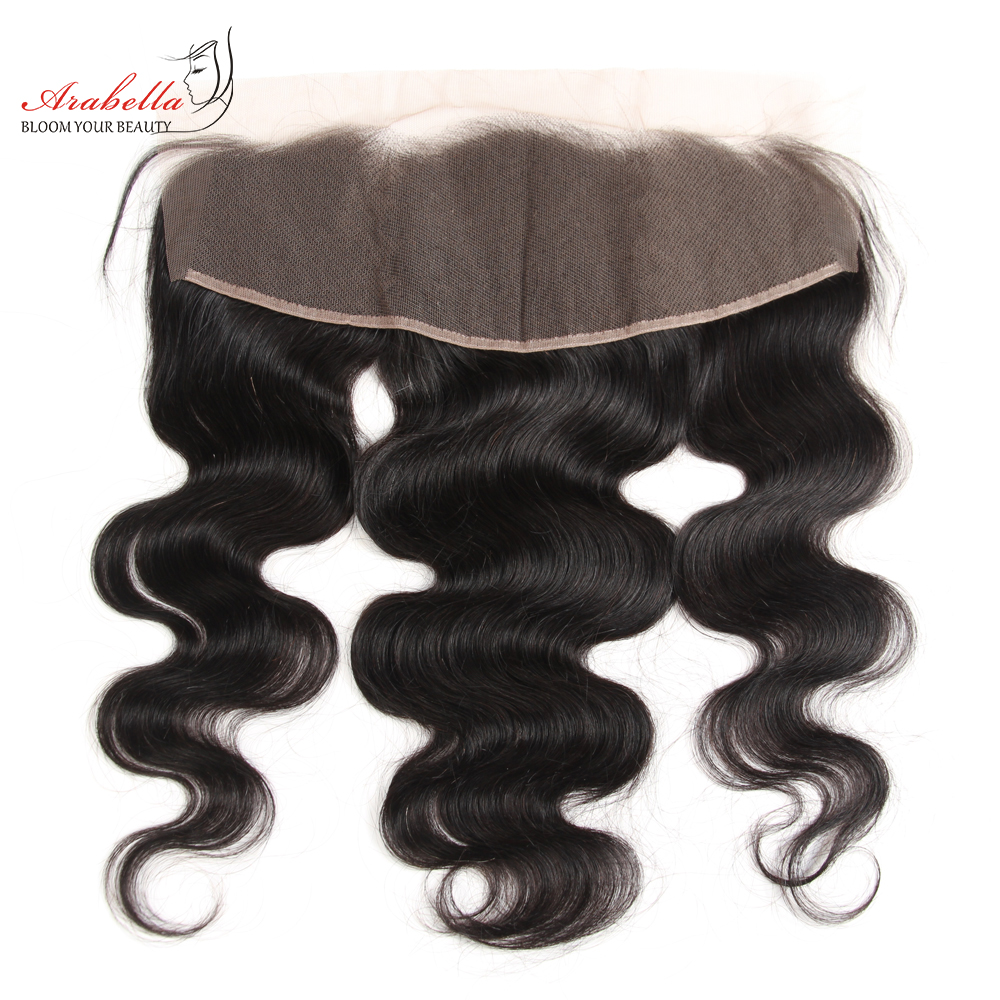 Body Wave 13x4 Transparent Lace Frontal   Arabella PrePlucked Bleached Knots Lace Frontal With Baby Hair 1