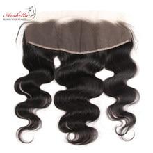 Extensions Lace Frontal wig naturelles Remy – Arabella, Body Wave, 13x4, pre-plucked, avec Baby Hair, nœuds décolorés, Transparent