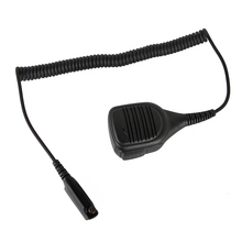 High Quality IP54 Waterproof Portable Loudspeaker Mic Microphone For Motorola Walkie Talkie STP9000 Two Way Radio Sepura STP8000 цена и фото