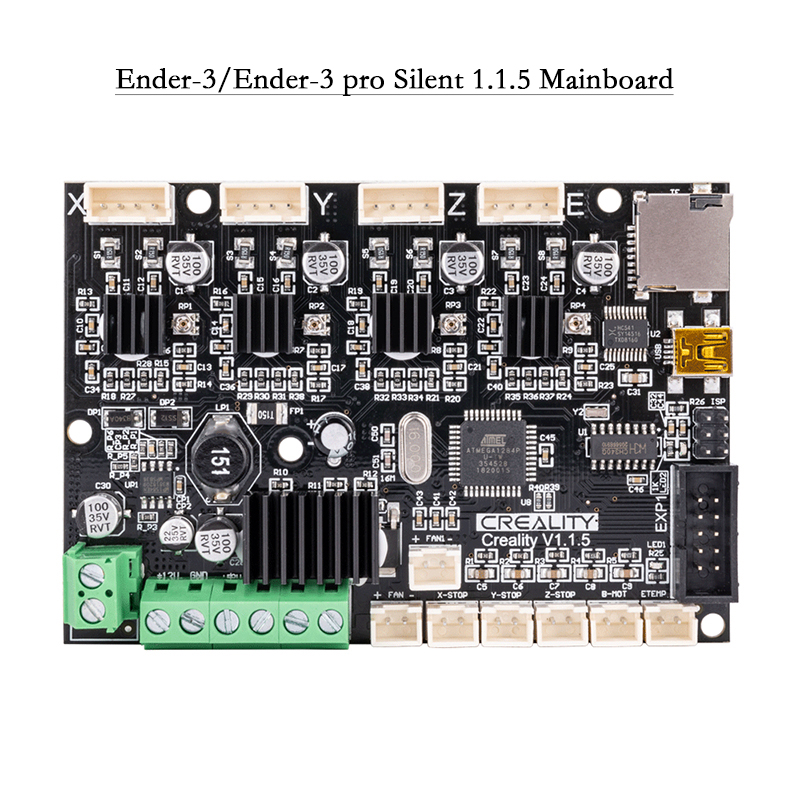 Creality 3D nouvelle mise à niveau silencieuse 1.1.5 carte mère/carte mère mise à niveau pour Ender 3/Ender 3 pro/Ender 5 imprimante 3D-in 3D Printer Parts & Accessories from Ordinateur et bureautique on AliExpress - 11.11_Double 11_Singles' Day 1