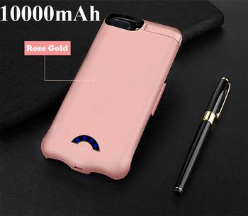 10000mAh Slim Ultra Thin Battery Charger Case For iPhone 8 7 6 s 6 s plus Power Bank Backup Charger Case for iphone 6 6s 7 8 image
