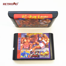 New Arrival 196 in 1 Hot Game Collection For SEGA GENESIS MegaDrive 16 bit Game Cartridge For PAL and NTSC Drop shipping(China)