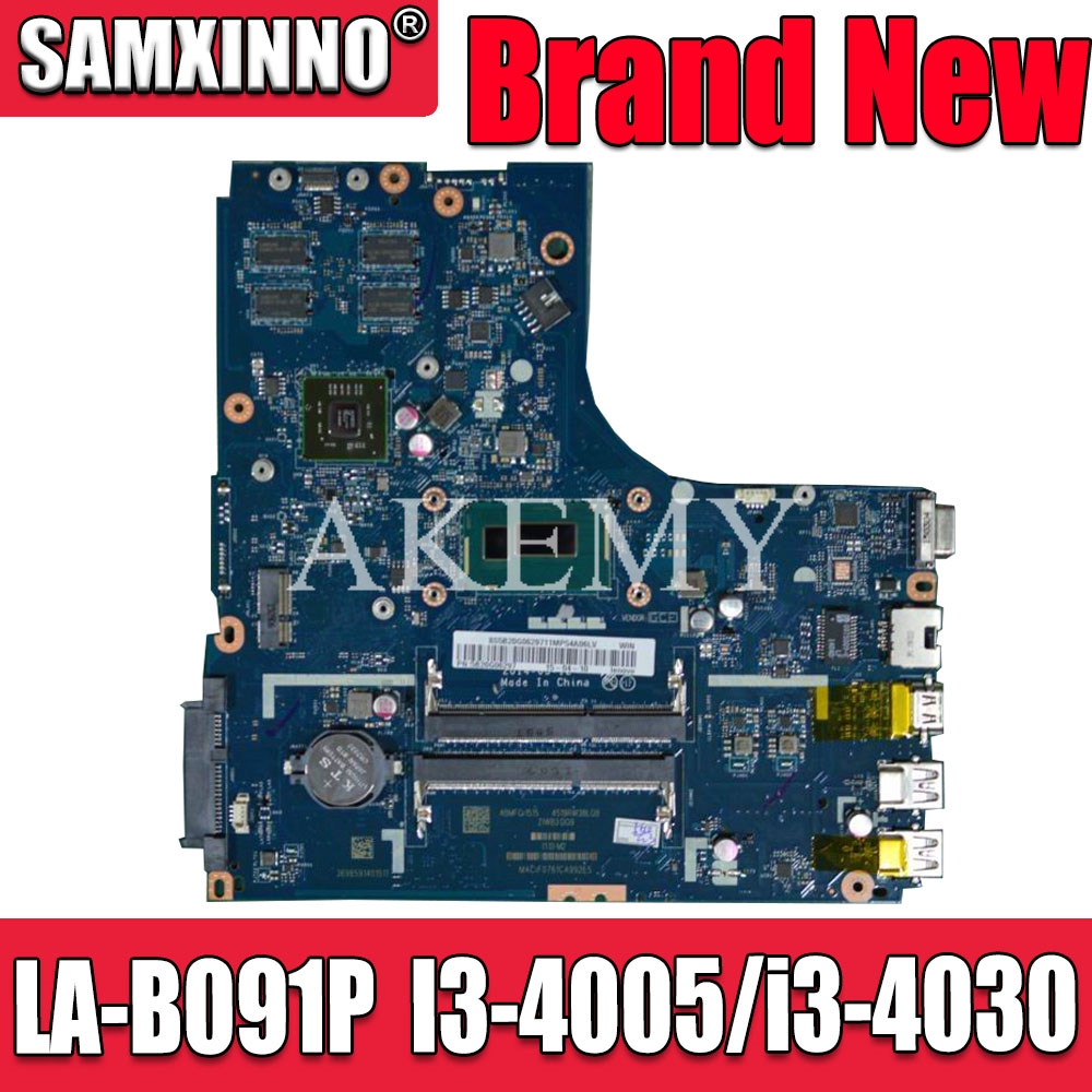 New Mianboard for <font><b>Lenovo</b></font> Ideapad <font><b>B50</b></font>-70 Laptop Motherboard ZIWB2/ZIWB3/ZIWE1 LA-B091P I3-4005 i3-4030 2GB GPU image