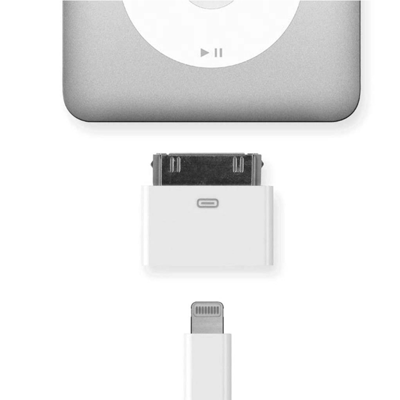 8pin Conversor Adaptador Fêmea Para 30pin Masculino Para iPhone4 4S iPad2 3 iPad Touch3 4