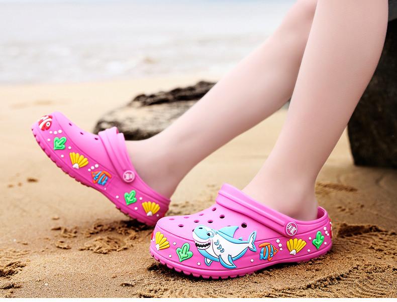2017 New fashion children garden shoes children cartoon sandal babies summer slippers high quality kids garden children sandals (13)