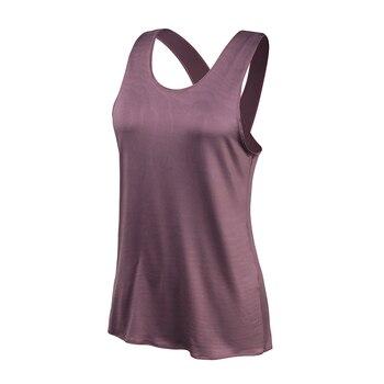 Yoga Shirt Women Gym Shirt Quick Dry Sports Shirts Cross Back Gym Top Women's Fitness Shirt Sleeveless Sports Top Yoga Vest 3