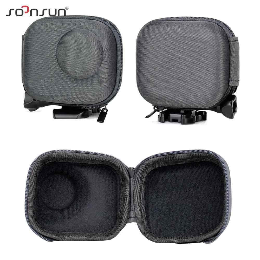 Soonsun Mini Shockproof Penyimpanan Portabel Case Membawa Tas Kotak Pelindung untuk DJI Osmo Aksi Olahraga Kamera Kasus Aksesoris