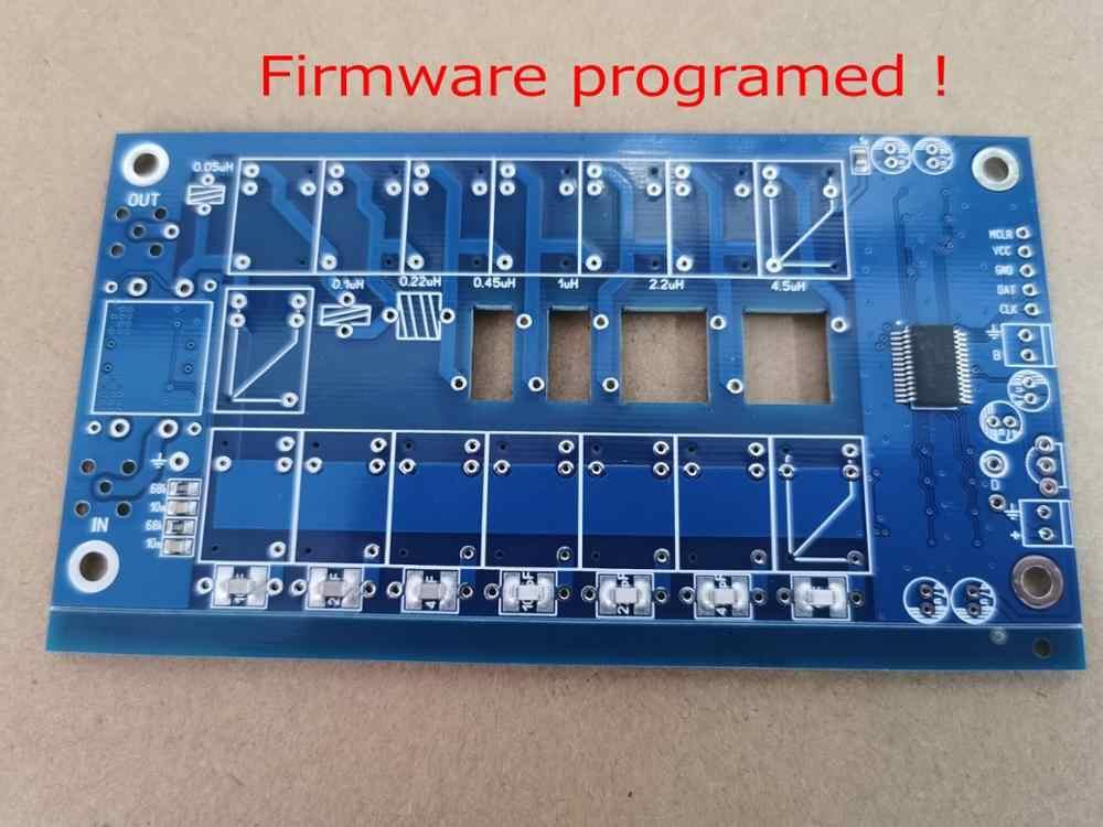 Smd/chip soldada! Firmware programado! ATU-100 diy kits 1.8-50mhz ATU-100mini sintonizador de antena automática por n7ddc 7x7 + oled,