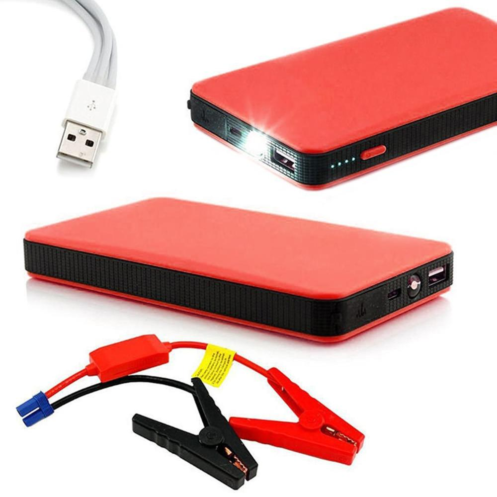 CY-013 12V Car Battery 12000mAh Jump Starter Multifunctional Starter Portable 1 USB Interfaces Car Accessories With LED Lights